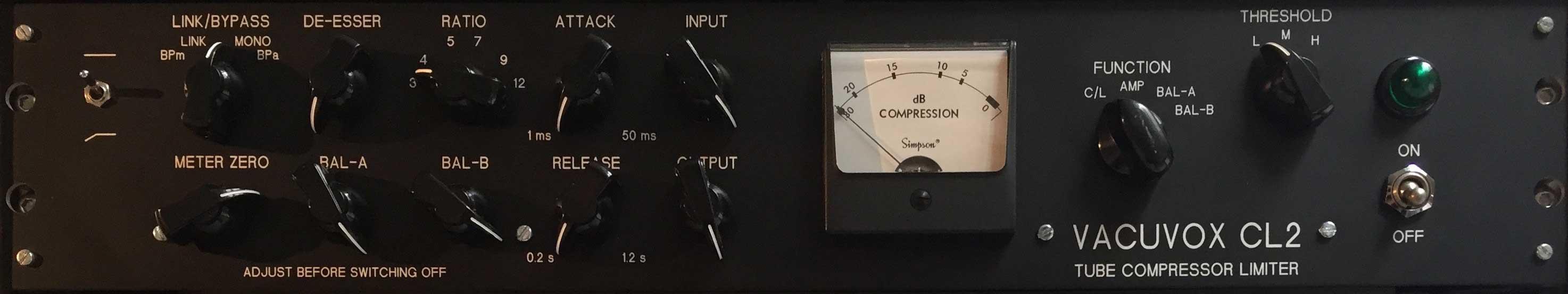 Vacuvox CL-2 compressor/limiter